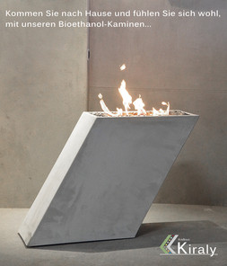 ethanol kamine andreas kiraly. Black Bedroom Furniture Sets. Home Design Ideas